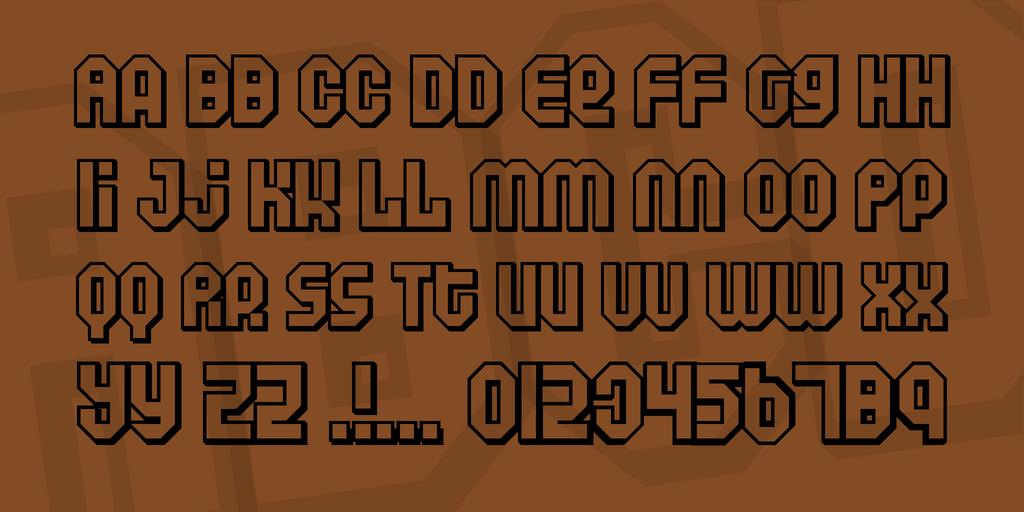 傳單標題字體 下載