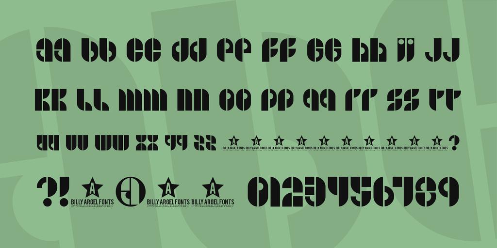 復古時髦字體 下載