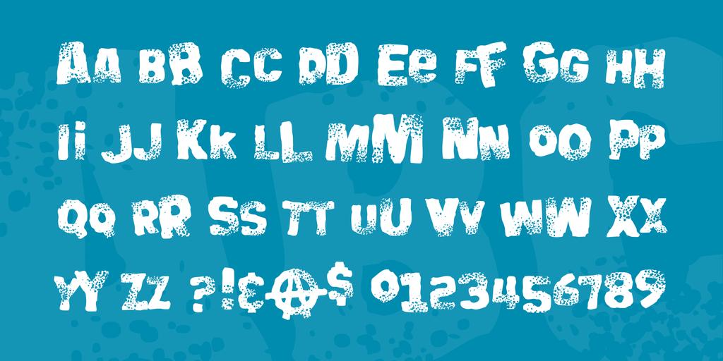 搖滾標題字體 下載