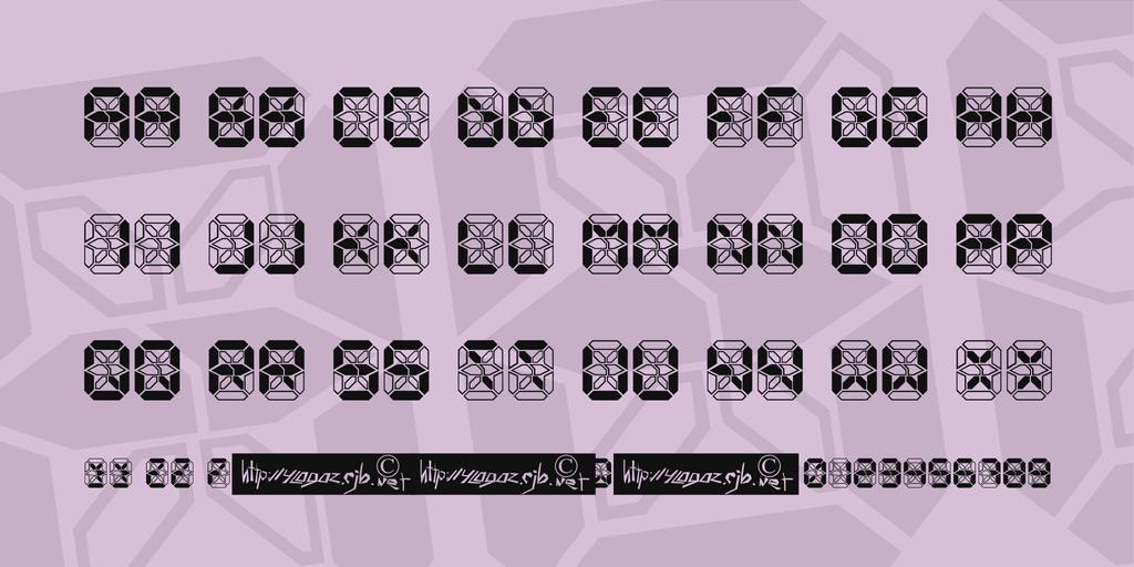 電子計算機字體 下載