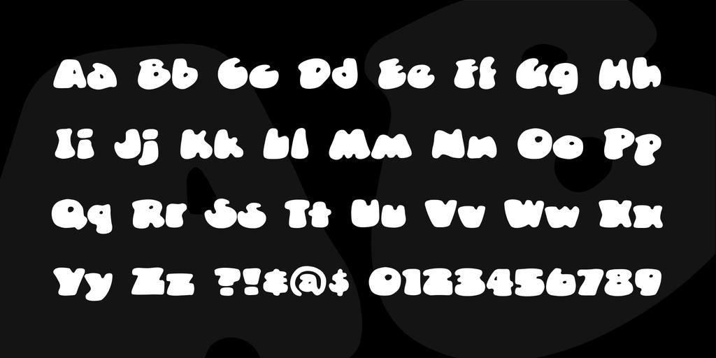 可愛口香糖字體 下載