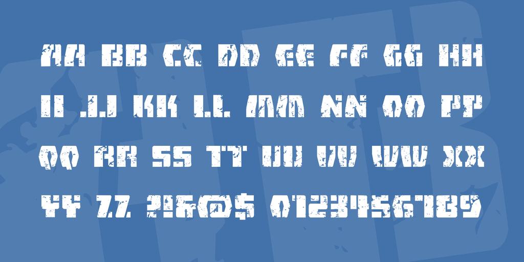 外星人字體 下載