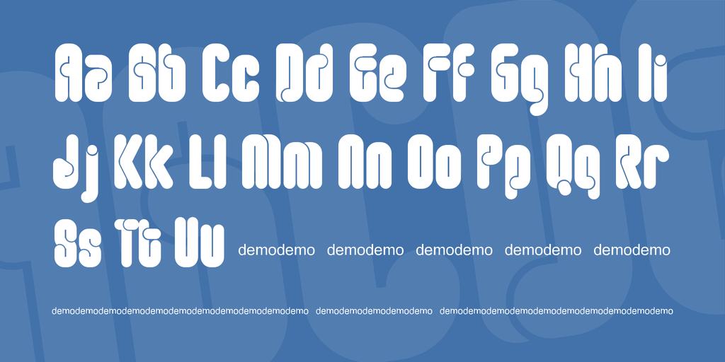復古圓體字型 下載