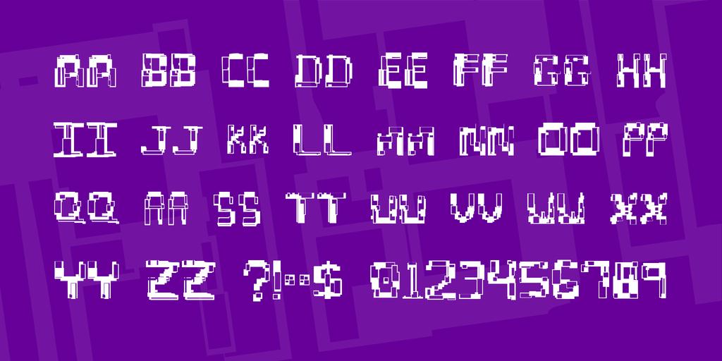特殊亂碼字體 下載