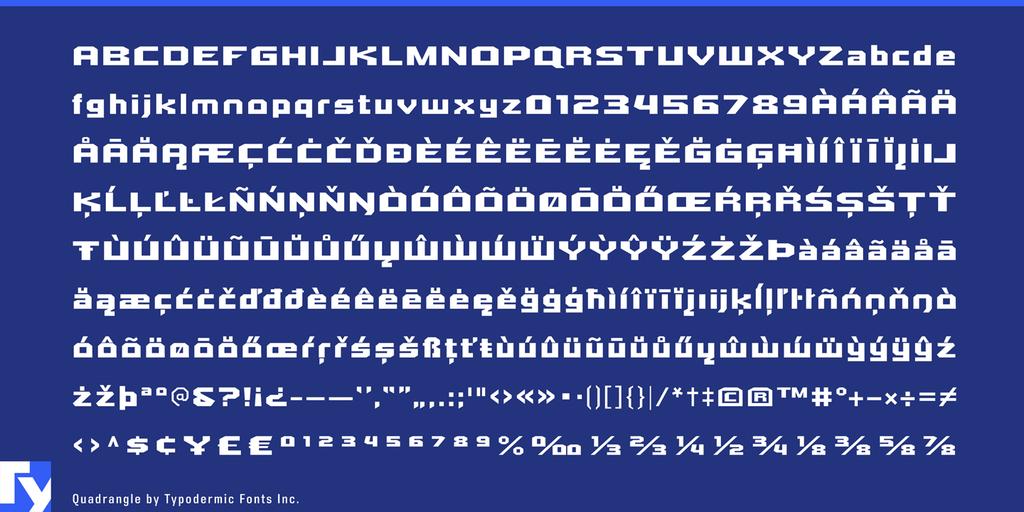 尖角字體 下載