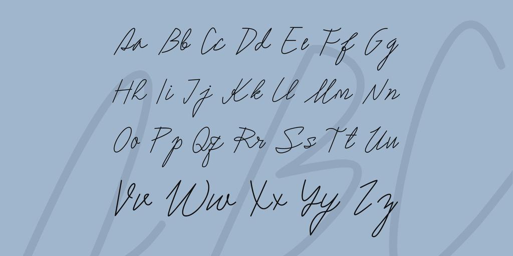 鋼筆手寫字體 下載