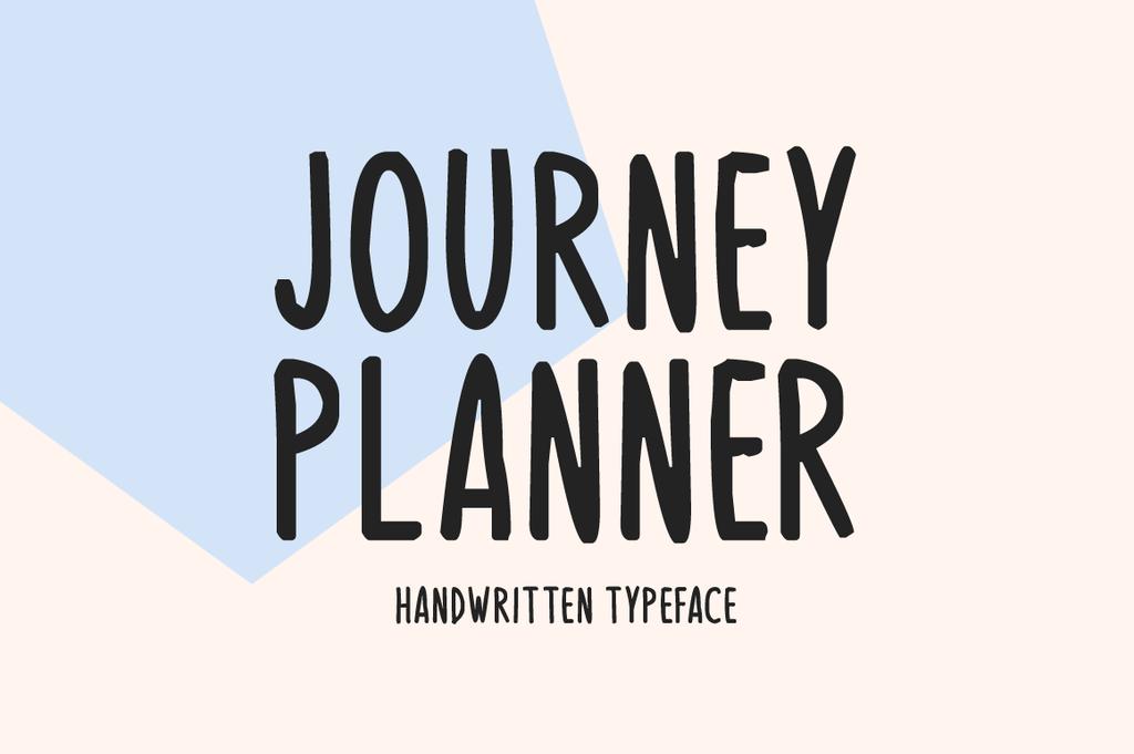 旅行風格字體 下載