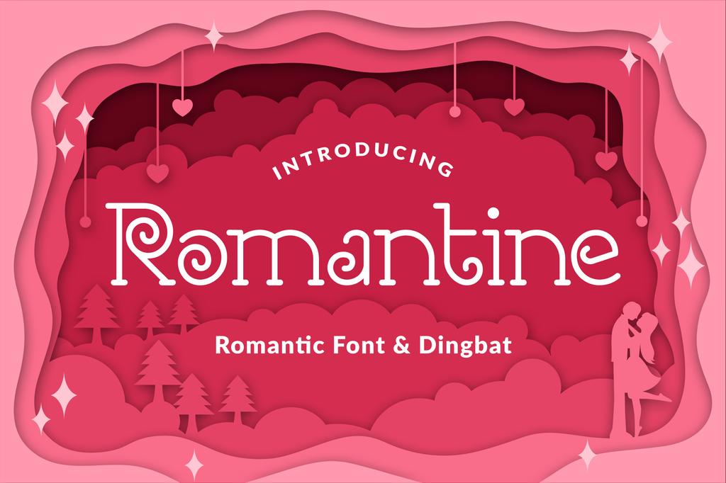 甜美浪漫字體 下載