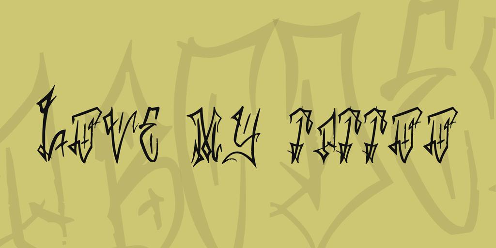 圖騰刺青字體 下載
