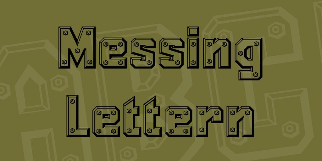 3D 金屬字體 下載