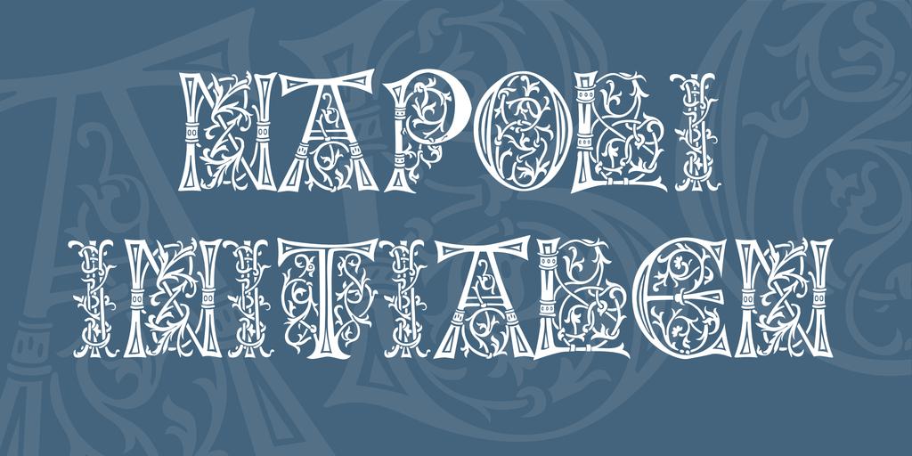 復古義大利字體 下載
