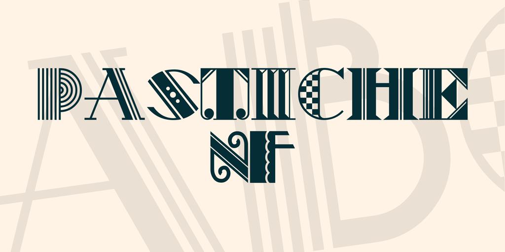 文藝裝飾字體 下載