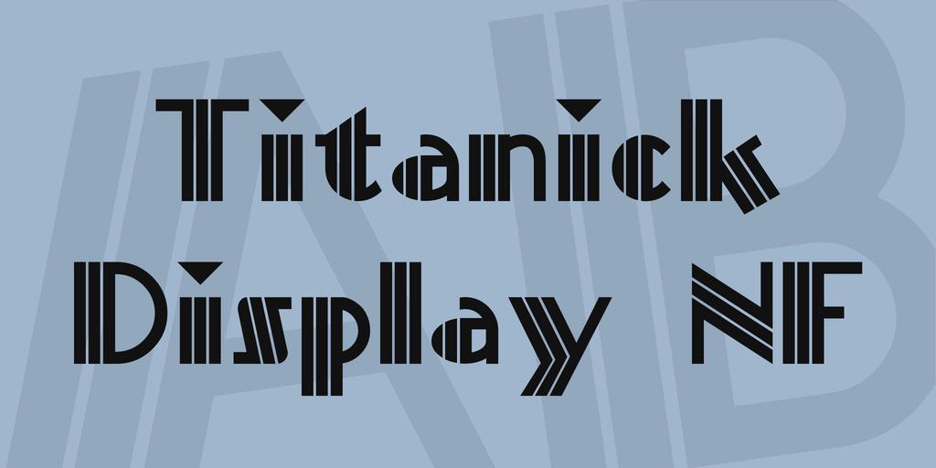 懷舊裝飾字體 下載