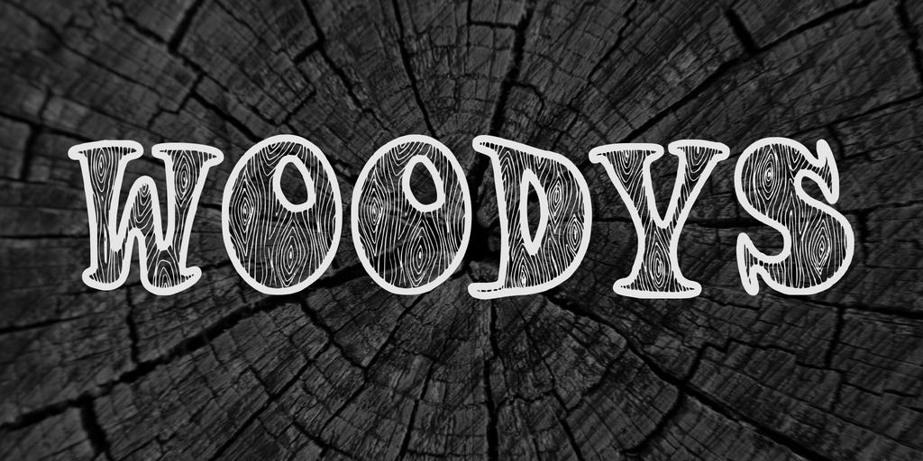木紋字體 下載